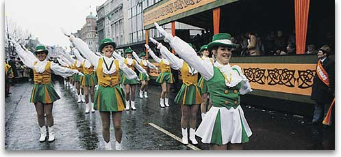 St. Pat's marching band